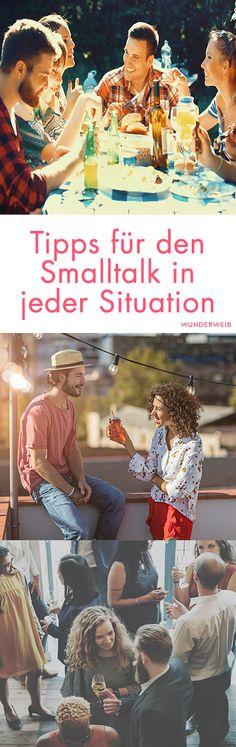 Tipps für den Smalltalk in jeder Situation / Jims Photography Self Development, Personal Development, Personal Branding, Better Life, Healthy Tips, Self Improvement, Self Help, Feel Good, Psychology