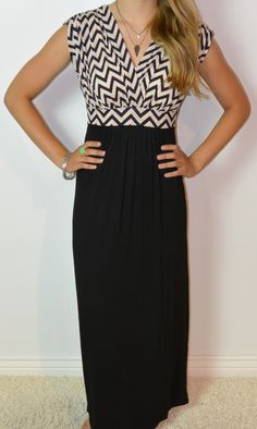 Chevron Maxi... YES PLEASE~I want to try and make this!!