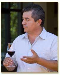 Rolando Herrera, Winemaker for Hughes Family Vineyards   Sonoma Valley, California