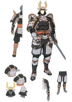 View an image titled 'Samurai Concept Art' in our Final Fantasy XI art gallery featuring official character designs, concept art, and promo pictures. Final Fantasy Xi, Fantasy Armor, Fantasy Samurai, Samurai Concept, Armor Concept, Concept Art, Game Character Design, Character Concept, Costumes