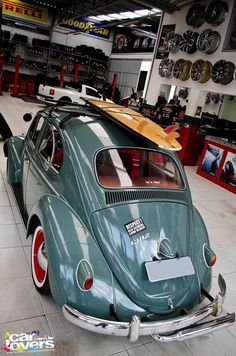 VW...I want those pop out rear windows and the white wall tires.