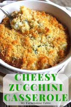 Best Zucchini Recipes, Veggie Recipes, Cooking Recipes, Squash Zucchini Recipes, Zuchinni Side Dish Recipes, Easy Yummy Recipes, Yellow Zucchini Recipes, Shredded Zucchini Recipes, Frozen Vegetable Recipes