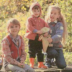Maklike breipatrone vir kinders