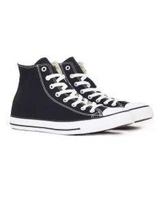 converse chuck taylor all star hi top plimsolls black mens fashion