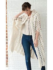 Vintage Victorian Cape crochet pattern from Annie's Craft Store. Order here: https://www.anniescatalog.com/detail.html?prod_id=125332&cat_id=24