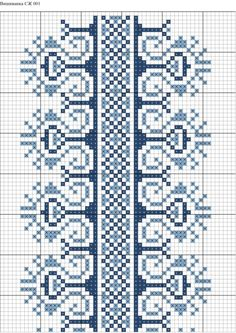 Ukraine, from Iryna Cross Stitch Borders, Cross Stitch Charts, Cross Stitch Patterns, Beaded Embroidery, Embroidery Stitches, Hand Embroidery, Bargello, Garter Stitch, Crafts To Do