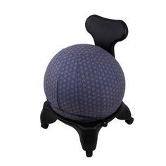 Fair Trade Yoga Ball Cover Size Design Colbalt Geometric - Global Groove (Y) Birthing Ball, Ball Chair, Boho Home, Yoga Fashion, Cover Size, Decoration, Fair Trade, Yoga Poses, Exercises