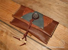 Handmade Upcycled Deerskin Genuine Leather Rolling Tobacco Pouch by WadadaAfrica on Etsy Leather Tobacco Pouch, Leather Cord, Deerskin, Distressed Leather, Big Game, Wooden Beads, Pouches, Biodegradable Products, Hand Stitching
