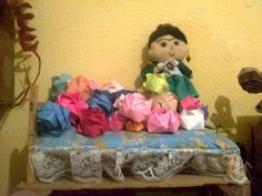 Frida Kahlo :) doll and origami