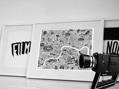 London Film Map - Film Noir