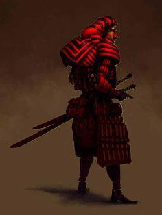 Egyptian Samurai