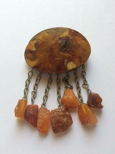 Brooch, amber, beginning XX century Brooches, Amber, Jewelry, Jewlery, Brooch, Jewels, Jewerly, Jewelery, Ivy