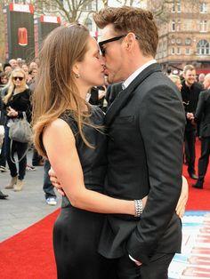 "Robert Downey Jr. and Susan Downey, Paris premiere of ""Iron Man 3"""