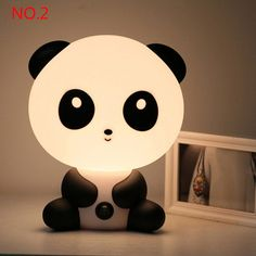 Animal Cartoon Night Light Romantic Lamp Kid by YassirStore