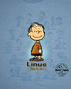 25.00 Peanuts 60th Anniversary Then and Now Shirt - Linus