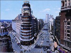 gran Via Madrid España