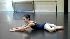 Stretching to improve turn out for ballet ( loosen up tight hips) Robbie 13