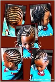 Site with cute braid styles for little girls