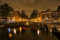 Amsterdam Canals by Angel  Flores on 500px