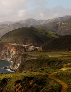 Big Sur; I will probably freak out if/when I go over THIS bridge O_O
