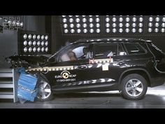 NEWCARNET - Skoda's new Kodiaq has been awarded a maximum five star rating in the latest round of Euro NCAP crash tests. The large SUV achieved full marks in. Large Suv, Car Videos, Awards, Safety, Security Guard