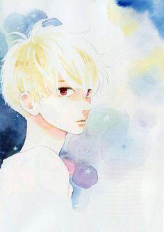 hirunaka no ryuusei, manga, and mamura daiki Manga Anime, Manga Boy, Anime Guys, Anime Art, Daytime Shooting Star, Shooting Stars, Mamura Daiki, Tsubaki Chou Lonely Planet, Hirunaka No Ryuusei