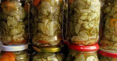 najlepsza sałatka szwedzka, sałatka ogórkowa, sałatka z ogórków, na zimę, ogórki, przetwory, spiżarnia Preserves, Pickles, Cucumber, Mason Jars, Cooking Recipes, Canning, Vegetables, Food, Places