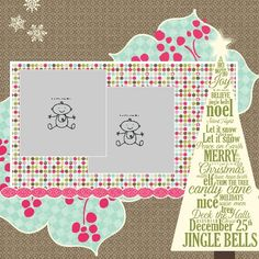 My Digital Studio (MDS) Frosty & Home For The Holidays  The Tree is part of this weekends free downloads to celebrate Digital Scrapbooking day!