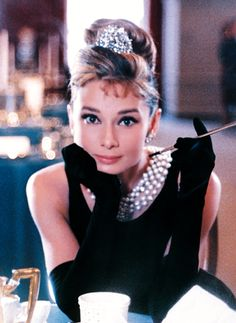 "Forever young: the beautiful Audrey Hepburn in ""Breakfast at Tiffany's"""