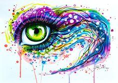 """""""Colours of joy"""" Art Print by PeeGeeArts   Society6"""