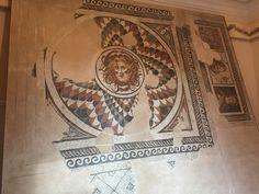 Mozaïek van Medusa in Thermen van Diocletianus