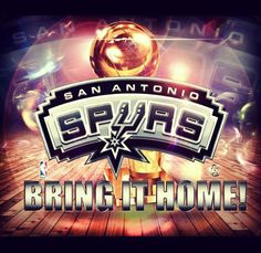 Spurs Finals-Bring It Home