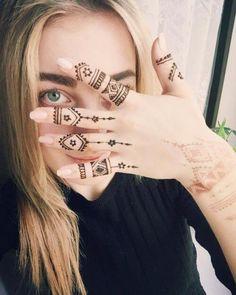 mehndi design for fingers .Easy for beginner #henna #hennadesign #hennatattoo #hennaart #mehndiart