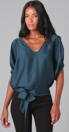 love the color & fit - not so in love with the neckline