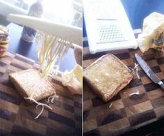 Por que complicar se dá para simplificar?publicado March 31, 2017, 14:42 GMT1. Se a manteiga estiver gelada demais para passar no pão, use um ralador de queijo.Mashable / Via mashable.com2. Quer assistir Netflix na cama ou enquanto lava a louça? Use alguns ganchos adesivos para criar um suporte barat