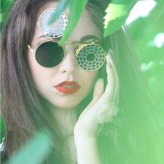 Gothic Steampunk Round Flip Up Sunglasses - Skullflow    https://www.skullflow.com/collections/skull-sunglasses/products/gothic-steampunk-unique-round-sunglasses