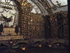 [Rome] Capuchin Crypt - The Capuchin Crypt is a small space comprising several tiny chapels located beneath the church of Santa Maria della Concezione dei Cappuccini on the Via Veneto near Piazza Barberini in Rome, Italy. Catholic Orders, Rome Attractions, Santa Maria, World Religions, Visit Italy, Rome Italy, Italy Trip, Florence Italy, Pilgrimage