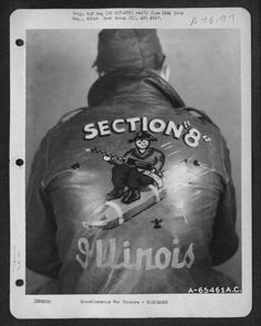 U.S. Air Force personalised bomber jackets Retronaut   Retronaut - See the past like you wouldn't believe.