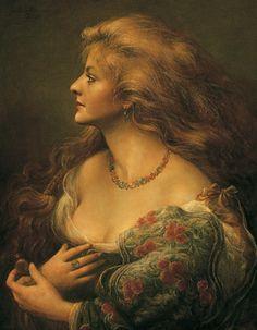 Cornelis le Mair - Louise Alita en profil