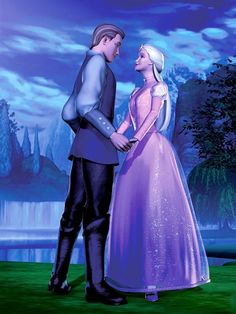 Barbie of Swan Lake- Prince Daniel and Odette Odette Swan Princess, Barbie Princess, Disney Princess, Barbie Costume, Barbie Dress, Barbie Barbie, Barbie Swan Lake, Princess And The Pauper, 12 Dancing Princesses