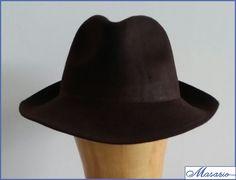 Borsalino Marrón Chocolate http://masario.es/es/ficha_producto.aspx?id=90019&id_categoria=680