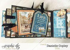 Cityscaped Mini Album, Cityscapes, Danielle Copley, Graphic 45