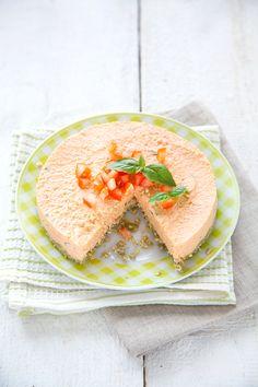 100% Végétal: Cheesecake cru tomate-basilic / Basil & tomato raw cheesecake