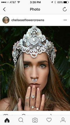 chelsea flower crown | ... chelsea s flower crowns on etsy chelsea s flower crowns on etsy