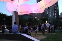 Mimmi | A giant, floating sculpture that acts as a collective mood ring for the city of Minneapolis