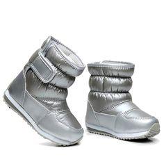 Dzieci Buty Gumowe Dla Dziewcząt Chłopców połowy łydki bungee sznurowania  śnieg buty nieprzemakalne dziewczyny futro boot buty sportowe podszewka  dzieci ... e674b5db7bd3