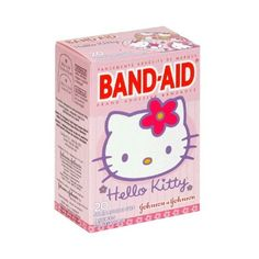 Hello Kitty Band Aids ❤ liked on Polyvore featuring fillers, hello kitty, beauty, extras and other
