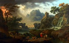 Vernet_A-Mountain-Landscape-with-an-Approaching-Storm