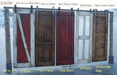 Love the barn door!