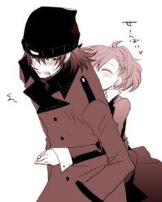 Minako and Shinjiro - Persona 3 Portable